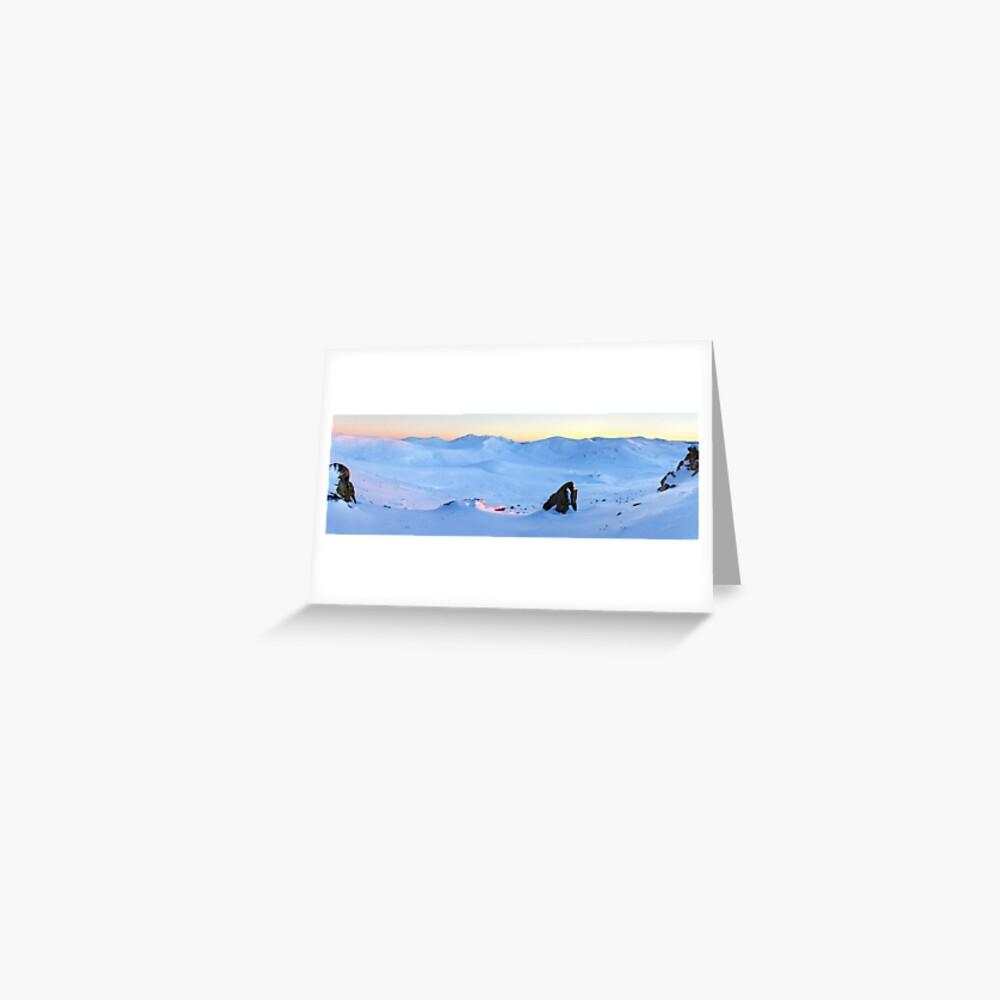 Kosciuszko Main Range, New South Wales, Australia Greeting Card