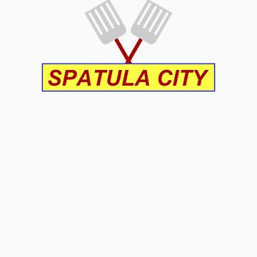 Spatula City by windupman