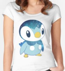 Galaxy Piplup Women's Fitted Scoop T-Shirt