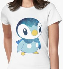 Galaxy Piplup Women's Fitted T-Shirt