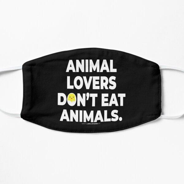 Vegan Activist Graphics #takingblindfoldsoff 55 Flat Mask