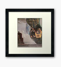 Annabelle Lee Lived By The Sea Framed Print