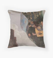 Annabelle Lee Lived By The Sea Throw Pillow