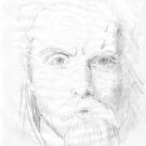Viking Face by redqueenself