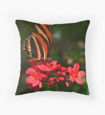 Brushfoot. Throw Pillow