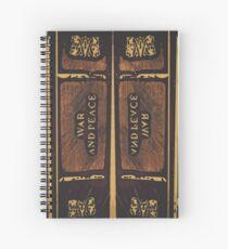 """""""War and Peace"""" (B) Spiral Notebook"""