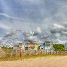 On the Beach by Ree  Reid