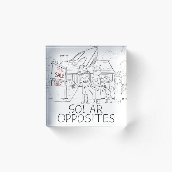 Solar Opposites - Sketch Acrylic Block