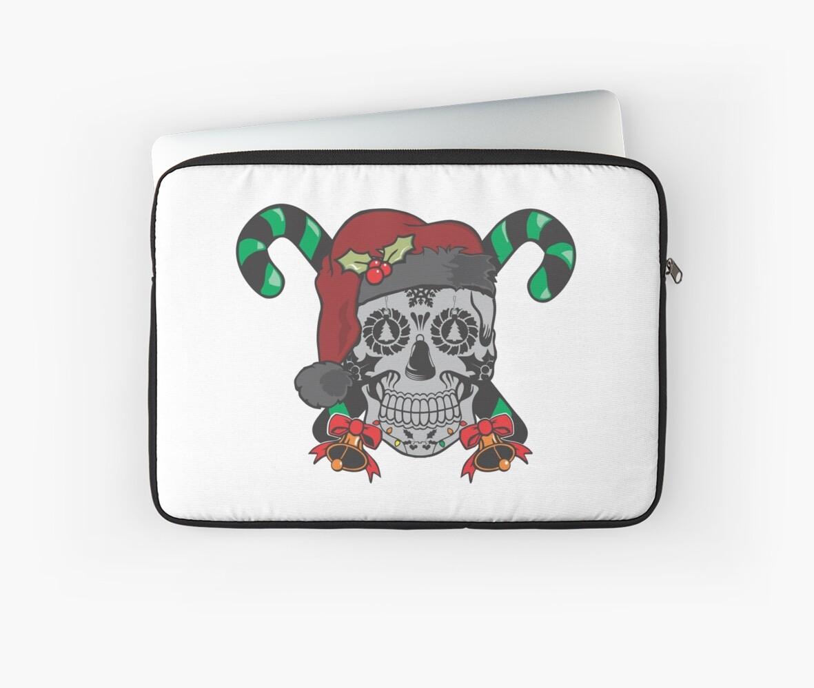 Sugar Skull Christmas by hrmmm