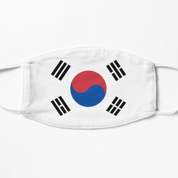 South Korea Flag Mask Mask