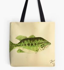 Large Mouth Bass Tote Bag