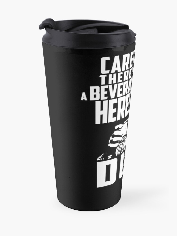Alternate view of Big Lebowski - Dude Abides Travel Mug