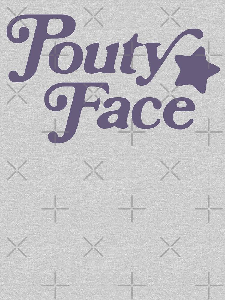 Pouty Face Grey by AllWellia