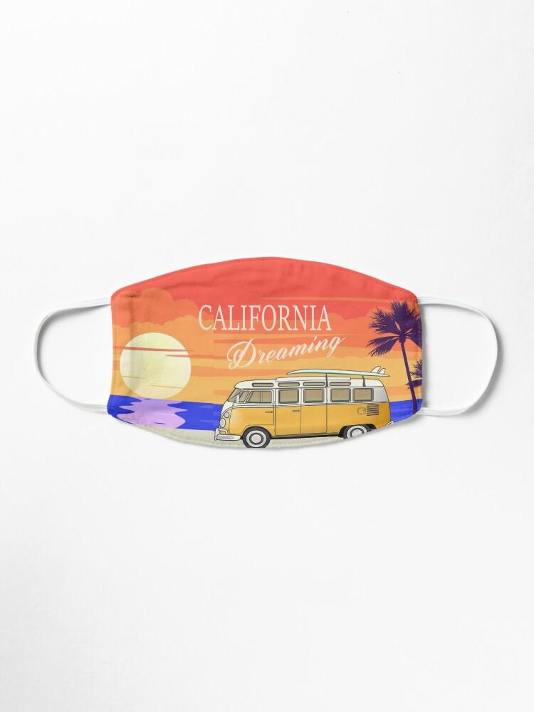 Alternate view of California Dreaming Mask