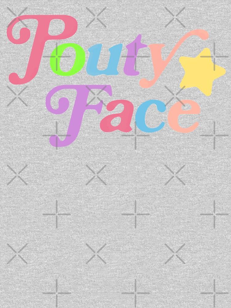 Pouty Face Rainbow by AllWellia