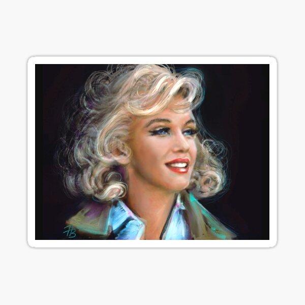 Marilyn 1 Sticker