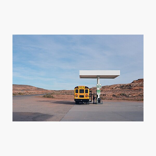 Gas Up Photographic Print