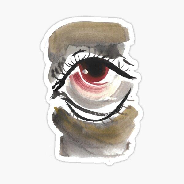Visual Study 3 Sticker