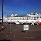 Dawn Princess visits Darwin by georgieboy98