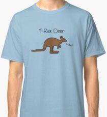Kangaroos Are T-Rex Deer Classic T-Shirt