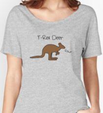 Kangaroos Are T-Rex Deer Women's Relaxed Fit T-Shirt