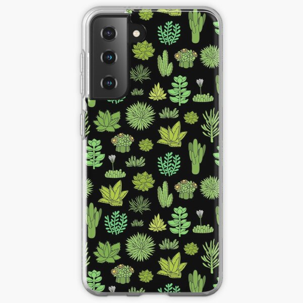 Succulents and cactus. For cacti plant lover Samsung Galaxy Soft Case