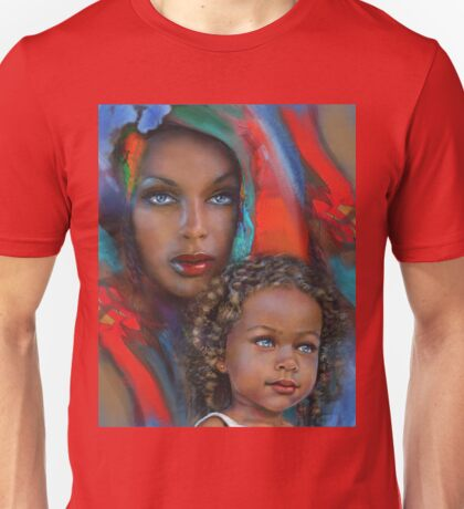 """Mother And Child"" Unisex T-Shirt"