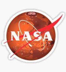 NASA Mars Logo Sticker
