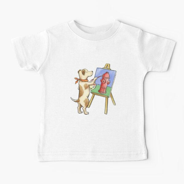Painting Dog Baby T-Shirt