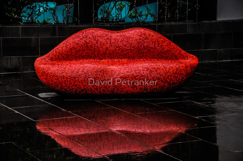 Lips to sit on by David Petranker
