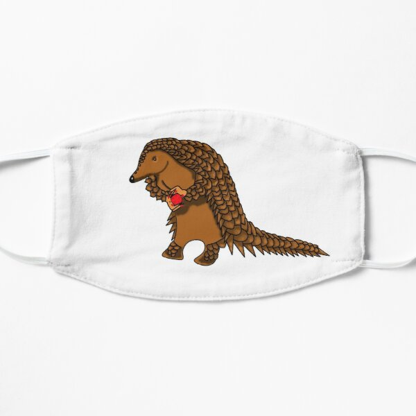All-in - Pangolin carrying corona Mask