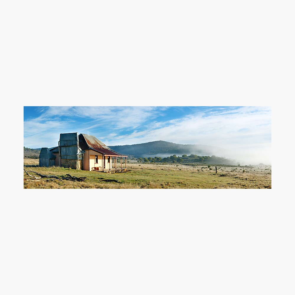 Old Currango Hut, Kosciuszko National Park, New South Wales, Australia Photographic Print