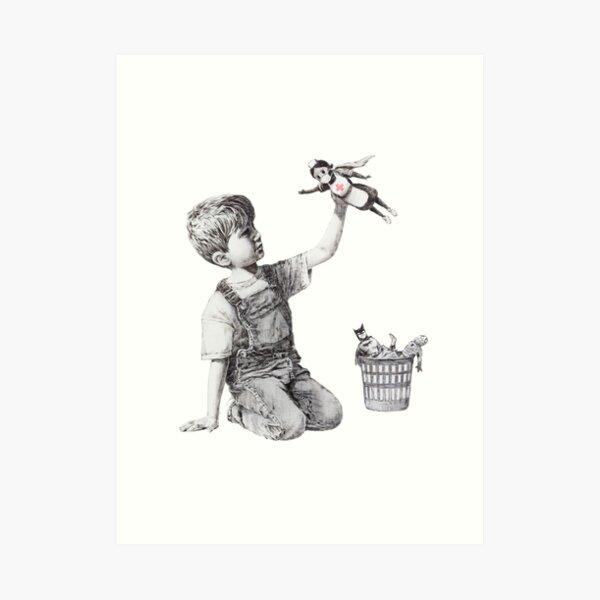Changeur de jeu - Banksy Impression artistique
