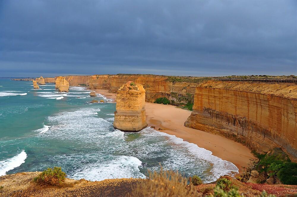Twelve Apostles. Port Campbell National Park, Victoria, Australia. (3) by Ralph de Zilva
