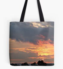Amazing Sunset Sky Over the Hospital, June 14, 2012 Tote Bag