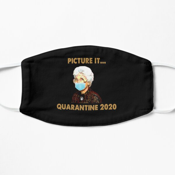 THE GOLDEN GIRLS PICTURE IT QUARANTINE 2020 VIntage Mask