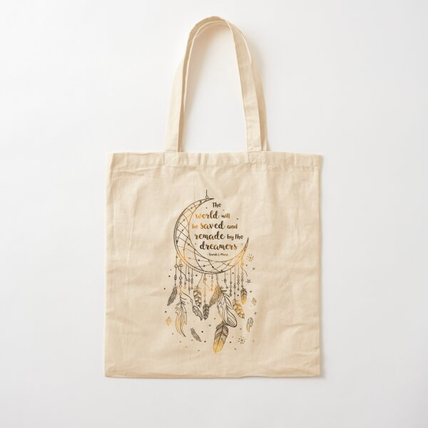 The world will be saved Cotton Tote Bag
