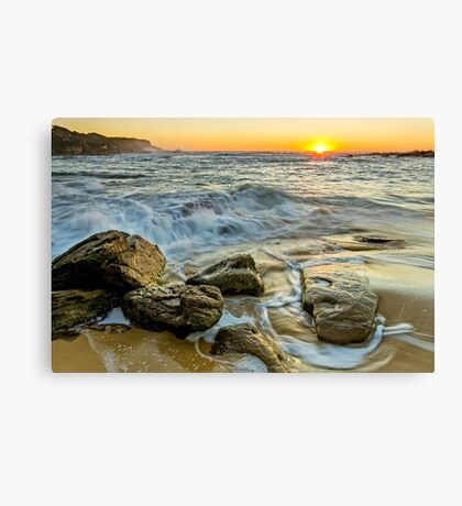 Morning Warmth Canvas Print