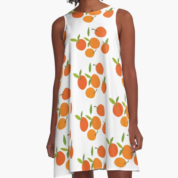 Clementines A-Line Dress