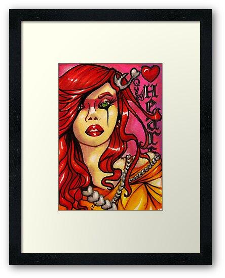 The Queen of Hearts by Vestque