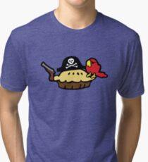 Pie Pirate Tri-blend T-Shirt