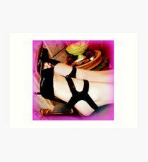 Versace shoes Art Print