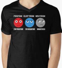 Proton Electron Neutron T Shirt Men's V-Neck T-Shirt
