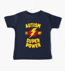 Autism is My Super Power Baby Tee