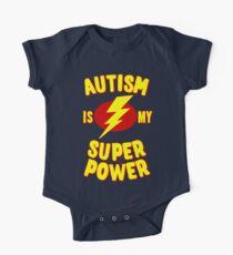 Autism is My Super Power Kids Clothes