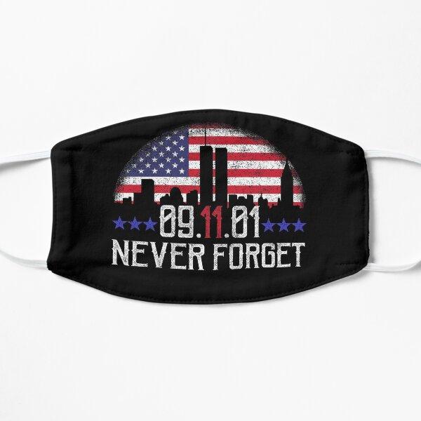 9 11 N'oubliez jamais Masque sans plis