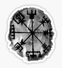 Runic Magic, Norse Compass - 'Vegvisir' Sticker