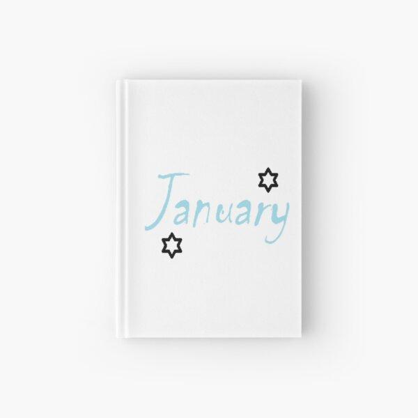 January Hardcover Journal