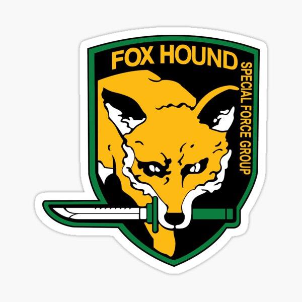 Metal Gear Solid - Fox Hound logo Sticker