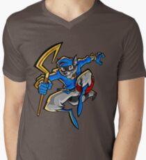 Sly Cooper Men's V-Neck T-Shirt